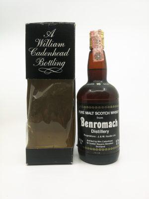 Benromach 16 years old Cadenhead dumpy 750ml 45