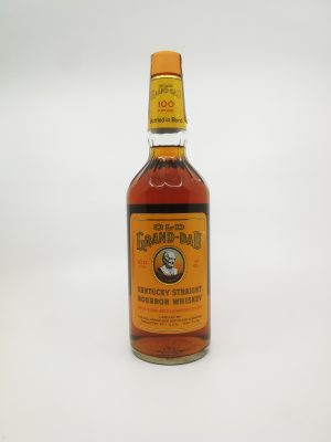 Old Grand Dad 1972 BIB 4/5 Quart 757ml 50%