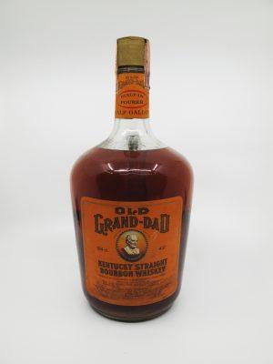 Old Grand Dad 1968 Half gallon handle 1892