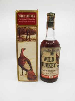Wild Turkey 1969 New York 8yo
