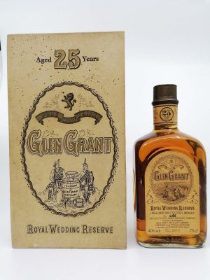 Glen Grant 25 years old Royal Wedding Reserve 750ml 40%