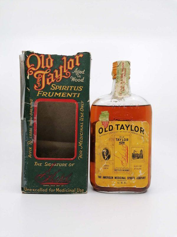 Old Taylor Prohibition era BIB pint 500ml 50%
