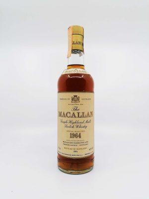 Macallan 1964-1981 Rinaldi import 750ml 43%