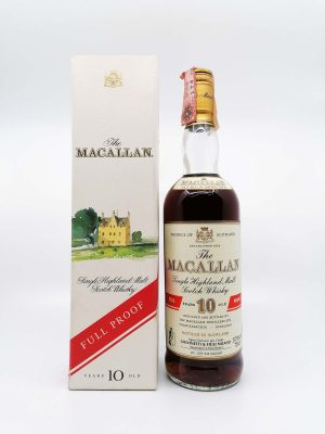 Macallan 10 years old full proof 700ml 57%