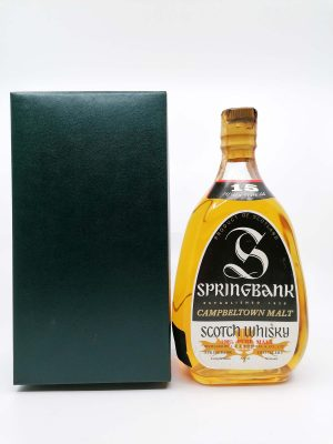 Springbank 15 years old pear shape 750ml 43%