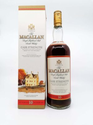 Macallan 10 years old cask strength 1000ml 58