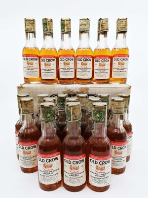 Old Crow Full case of miniatures 1000ml 43%