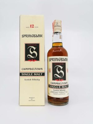 Springbank 12 years old red thistle 700ml 46%