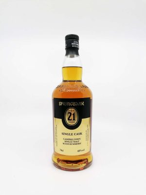 Springbank 21 years old single cask for Fourcroy 700ml 48%