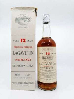 Lagavulin 12 years old White Horse Distillers 750ml 43%