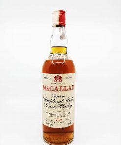 Macallan 12 years old GM red screw cap 750ml 40%