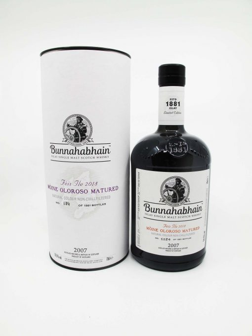 Bunnahabhain 2007 Mòine for Feis Ile 2018 700ml 59