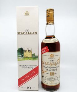 Macallan 10 years old 100 proof 700ml 57%