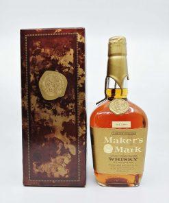Maker's Mark Gold wax 750ml 50