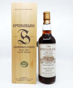 Springbank 1964-1999 Lateltin Lanz Ingold 100th 700ml 46%