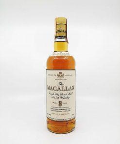 Macallan 8 years old Rinaldi import 750ml 43%