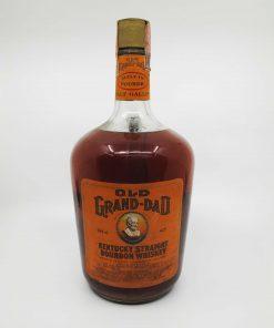Old Grand Dad 1968 Half gallon handle 1893ml 43%