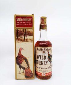 Wild Turkey 1969 New York 8yo